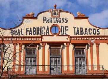 Real Fabrica de Tabacos Partagas in Havana
